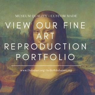 dubai art art reproduction